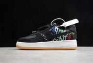 Travis Scott x Nike Air Force 1 Black Cactus Jack
