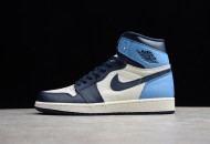 Air Jordan 1 Obsidian University Blue 555088-140