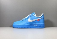 Nike Off-White x Air Force 1 Low 'MCA' Blue CI1173-400